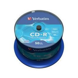 CD-R medij VERBATIM 700MB 52×