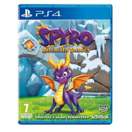PS4 SPYRO REIGNATED TRILOGY