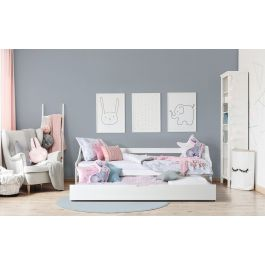 Set krevet FELIX + podnice + ladica + madrac Natur Foam