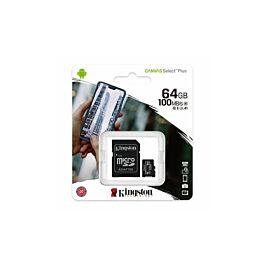 Memorijska kartica KINGSTON 64GB MICRO SD + ADP