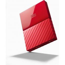 Eksterni disk WD My Passport 1TB, Red