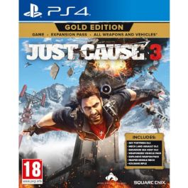 PS4 Igra JUST CAUSE 3 Gold Edition