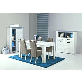 Blagovaonski set 4 stolice ALIDA + stol OSCAR