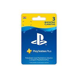 PS4 PLUS 3-mjesečno članstvo