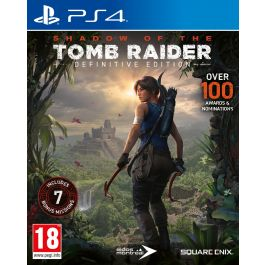 PS4 igra SHADOW OF THE TOMB RAIDER, Definitive Edition