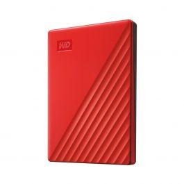 Vanjski tvrdi disk WD PASSPORT 2TB, Crvena