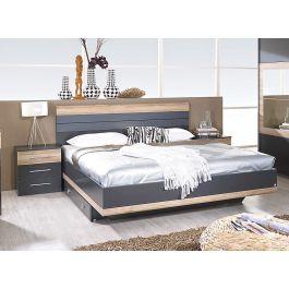 Set krevet TARRAGONA + 2x noćni ormarić 160x200