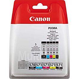 Tinta CANON PGI 570+ CL571, Multipack