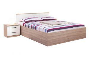 Krevet MIA SUPERFLEX 6625 -Driftwood/Bijela Visoki Sjaj-140x200 cm