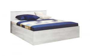 Krevet MIA SUPERFLEX 6625 Hespo-Skandinavsko bijela/Bijelo uzglavlje-160x200 cm