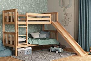 Krevet na kat sa toboganom DAVID