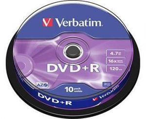 DVD+R medij VERBATIM 4.7GB 16×