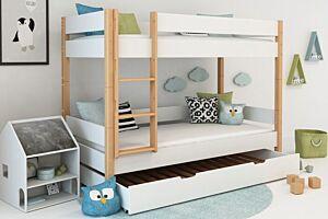 Dječji krevet na kat s ladicom LOLLIPOP