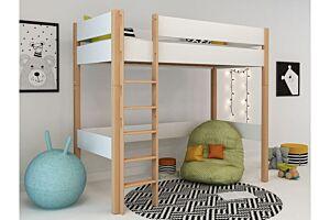 Povišeni krevet na kat LOLLIPOP