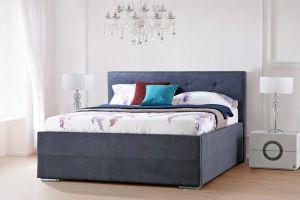 Krevet DUBBO Storage-Siva-180x200 cm