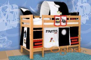 Dječji krevet na kat MARK-Bukva