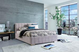 Krevet CARDIFF STORAGE-Svjetlo Siva-160x200 cm