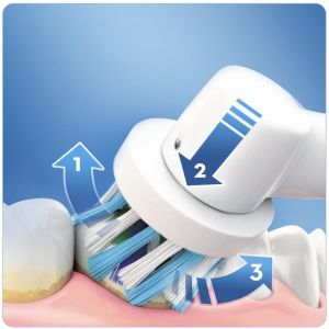 Električna zubna četkica BRAUN ORAL B PRO 750 BLACK + PUTNA TORBICA