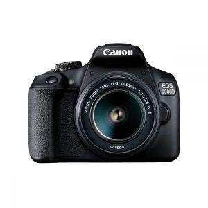 Digitalni fotoaparat CANON EOS 2000D BK 18-55