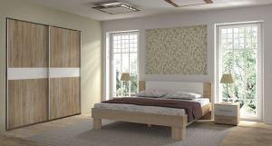 Spavaća soba COLORADO-160-Hrast/Bijela