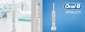 Zubna četkica BRAUN ORAL B D100 VITALITY SENS WHITE