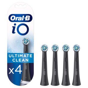 Zamjenske glave ORAL-B iO Ultimate Clean Black 4ct