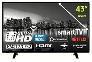 """4K UHD LED TV ELIT TV 43"""" L-4320UHDTS2"""