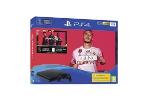 Playstation 4 1TB CHASSIS F + FIFA 2020 + FUT kupon