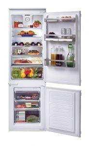 Ugradbeni kombinirani hladnjak HOOVER HBBF 172