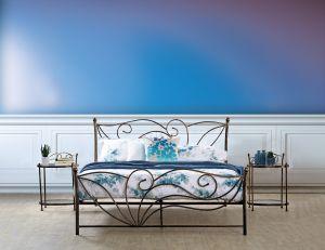 Set krevet AMAL + podnica + madrac NATUR FOAM 140x200 cm