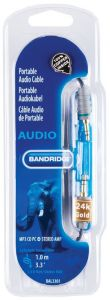 Audio kabel BANDRIDGE BAL3301 1M