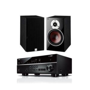 AV YAMAHA Bundle RX-V485 + par zvučnika DALI OBERON 1