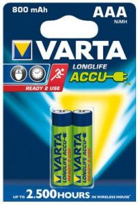 Punjiva baterija LONGLIFE ACCU AAA 800