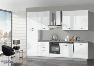 Kuhinjski blok BELLA bijeli + aparati
