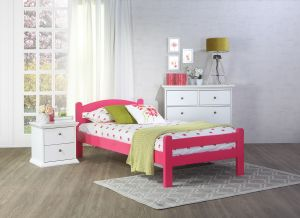 Set krevet BILLUND + podnica DOKTOR + madrac MEMORY DREAM 90x200 cm