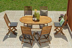 Vrtni blagovaonski stol BLOOMSBURY I