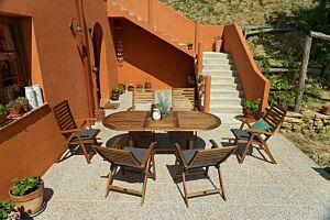 Vrtni blagovaonski stol BLOOMSBURY II