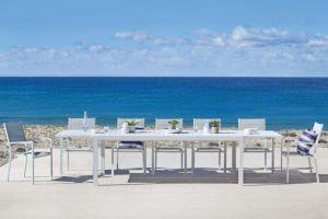 Vrtni stol BON XL-Bijela