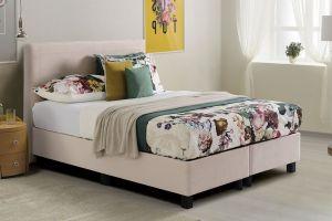 Box krevet FIESTA/NINA-Krem-90x200 cm