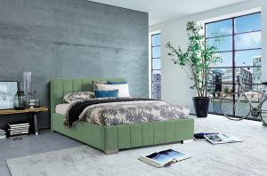 Krevet CARDIFF-Svijetlo zelena-180x200 cm