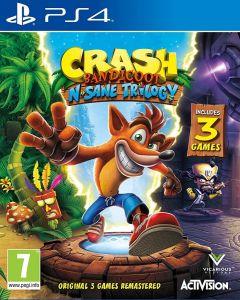 PS4 igra CRASH BANDICOOT N. SANE TRILOGY
