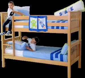 Krevet na kat DAVID 90x200 cm + 2 x podnice