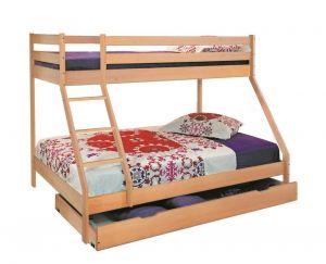 Dječji krevet na kat MAXIM-Bukva