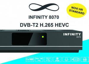 DVB-T2 prijemnik INFINITY 8070 DVB-T2