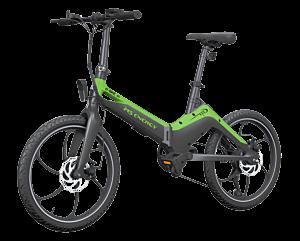 E bicikl MS energy i10 crno zeleni