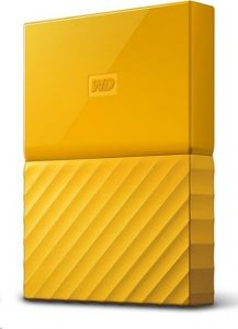 Eksterni tvrdi disk WD MY PASSPORT 2TB, Yellow