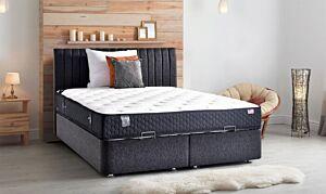 Set krevet AMSTERDAM sa podiznom podnicom + madrac ELKINS