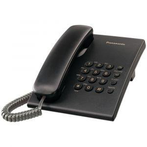Fiksni telefon Panasonic KX-TS500FXB, crni
