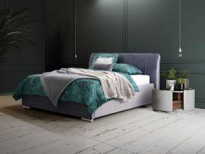 Set Krevet FRANCE sa podiznom podnicom i spremištem + Madrac LOTOS