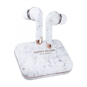 Slušalice HAPPY PLUGS AIR 1 PLUS-Bijeli mramor
